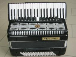 Akkordeon Melodie und Paganini 3