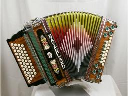 Harmonika Profi 4 Palisander