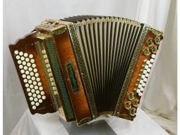 Harmonika Profi 4 WS Wurzelholz schatt..