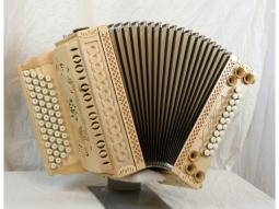 Harmonika Schnitzkunst Alpenkönig Luxus